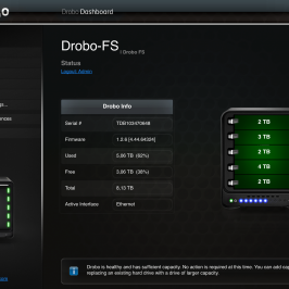 Drobo FS – Why I use it