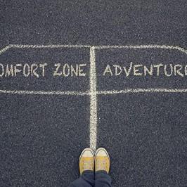 Kom uit die comfort zone